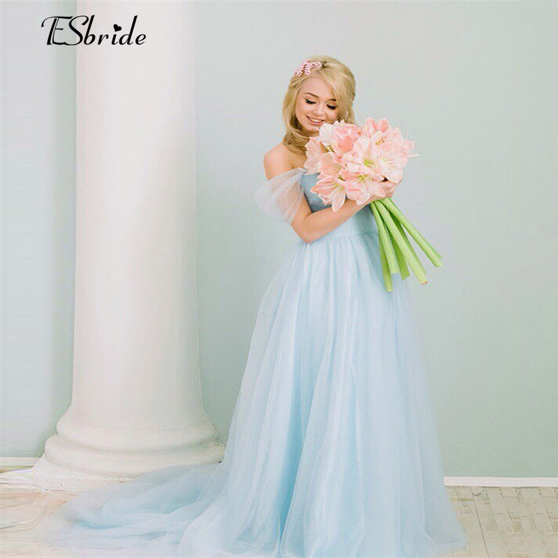 Light blue pregnant photography dresses vintage wedding for Light blue lace wedding dress