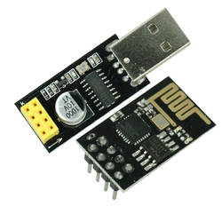 ESP01 программатор адаптер UART ESP-01 адаптер ESP8266 CH340G USB к ESP8266 Серийный беспроводной Wifi доска разработки модуль