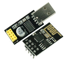 ESP01 Programmer Adapter UART ESP-01 Adaptater ESP8266 CH340G USB to ESP8266 Serial Wireless Wifi Developent Board Module(China)