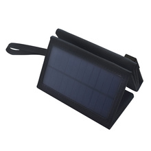 Boguang USB 5V 10W Portable Foldable solar Charger for outdoor charging camp Waterproof Solar Rechargeable Folding