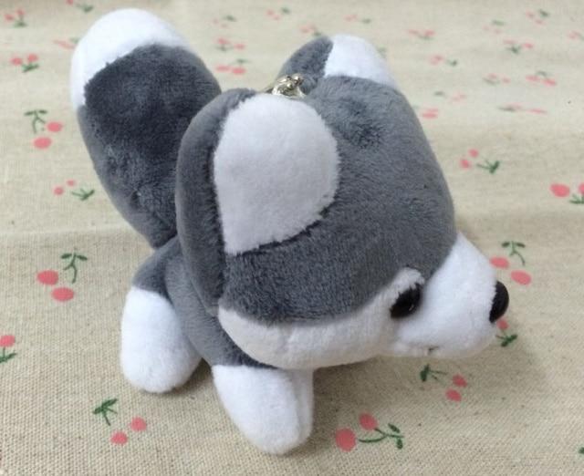 Hot New 10cm Approx Middle Size Quality Husky Dog Plush Toys