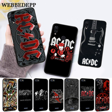 WEBBEDEPP Music Band ACDC Silicone Case for Xiaomi Redmi 4A 4X 5A 5 Plus S2 6 6A 7 7A K20 Pro Go