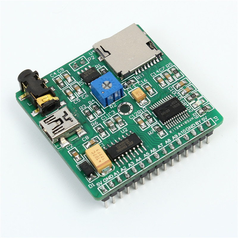 Voice Playback module MP3 Voice Prompts Voice Broadcast Device For font b Arduino b font