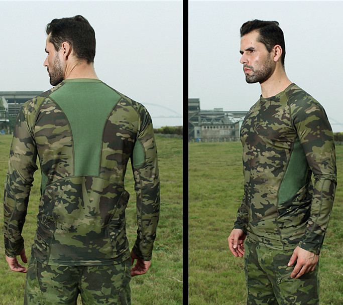 Shirt To Adopt Advanced Technology Men's Clothing Tops & Tees Lis Alices Multicam Uniform Military Long Sleeve Tshirt Men Camouflage Army Combat Shirt Airsoft Paintball Clothes T