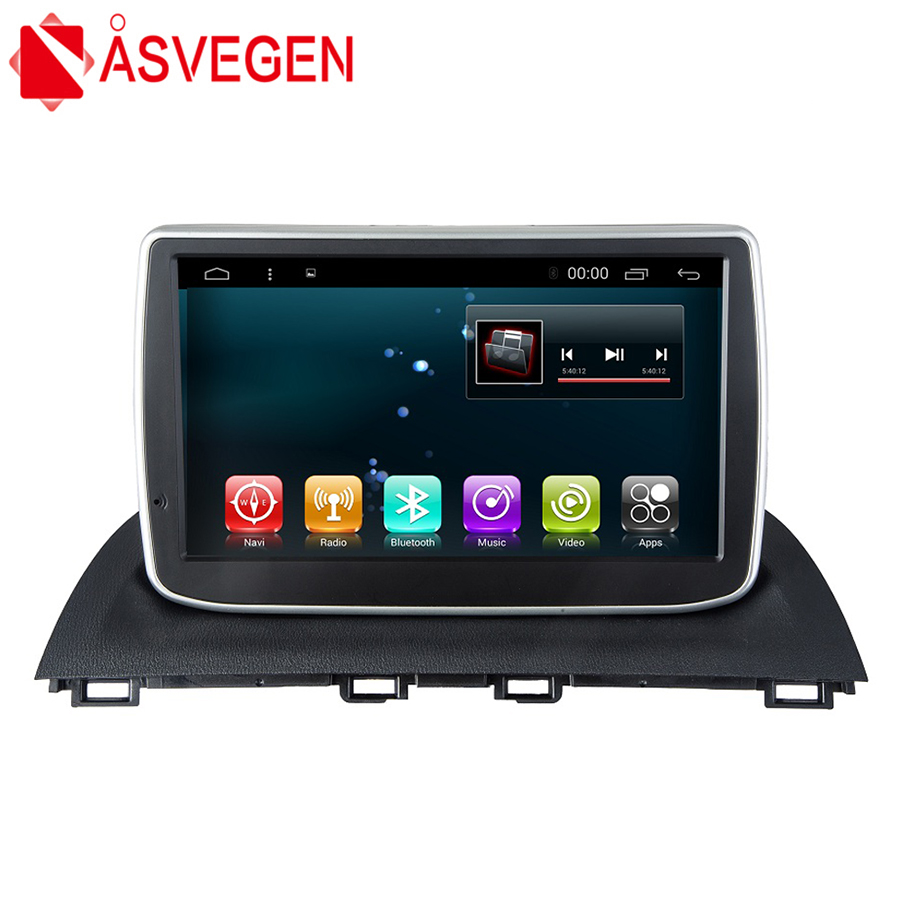 Asvegen Car Auto Stereo <font><b>Radio</b></font> For <font><b>Mazda</b></font> <font><b>3</b></font> Axela 2014 <font><b>2015</b></font> 2016 Android 7.1 Quad Core 8 inch GPS Navigation Multimedia DVD Player image