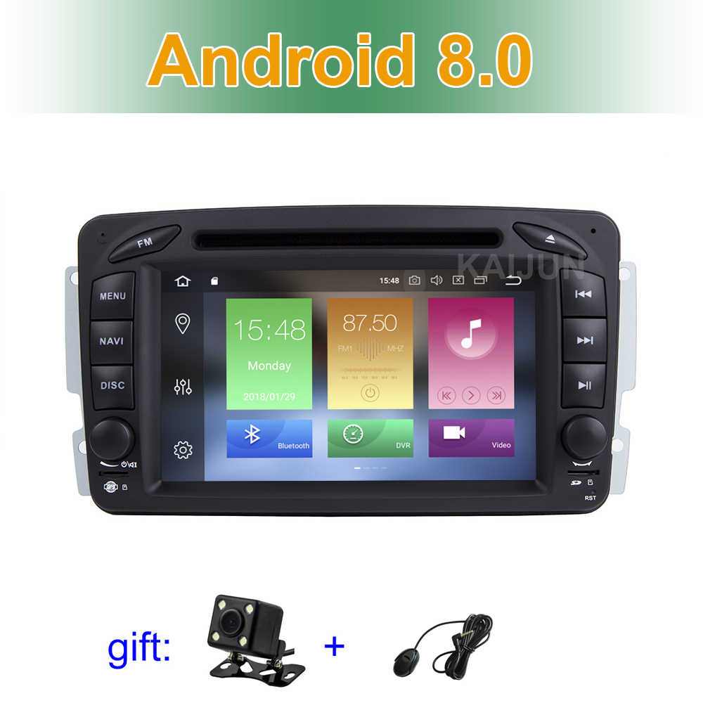 Octa core 4 GB RAM Android 8.0 Car DVD Player for Mercedes/Benz W203 S203 W209 C209 W639 with GPS Radio BT WiFi