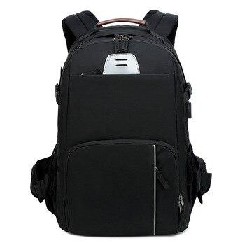 CAREELL  C3058 DSLR Camera Bag Backpack Universal Large Capacity Travel Camera Backpack For Canon/Nikon Camera 15.6 inch laptop zap universal stylish canvas carrying bag for camera dslr khaki