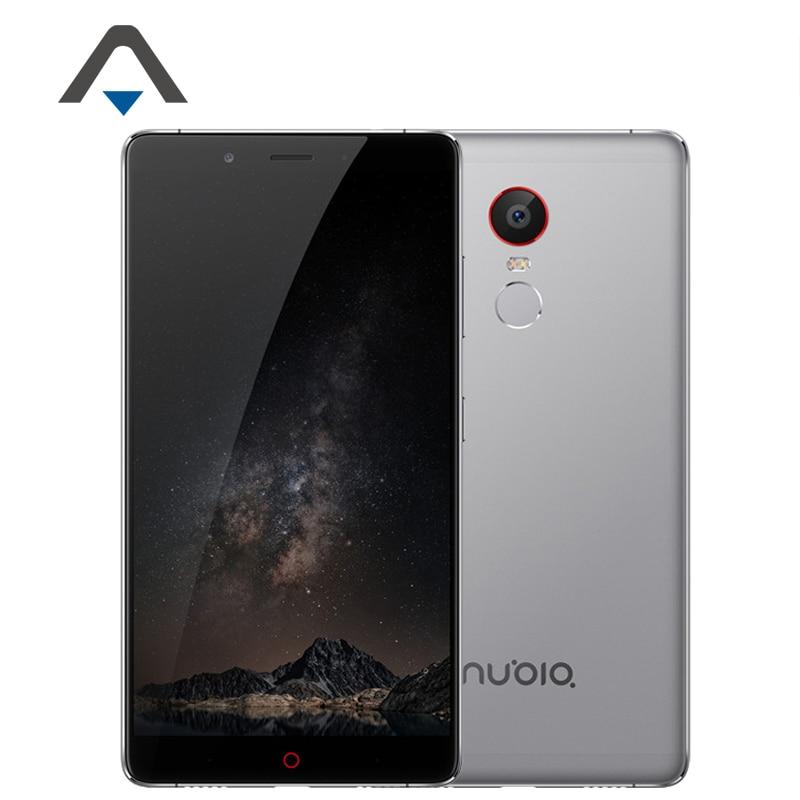 Original ZTE Nubia Z11 Max NX523J 4G LTE Mobile Phone Snapdragon 652 Octa Core Phone 6