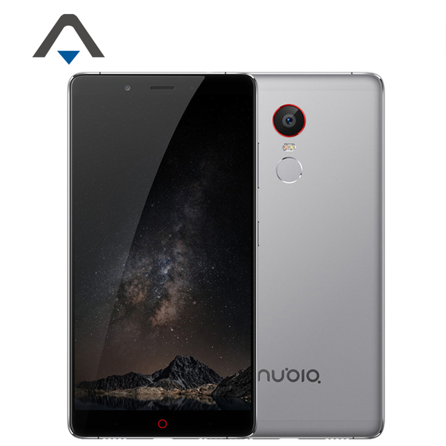 "Original ZTE Nubia Z11 Max NX523J 4G LTE Mobile Phone Snapdragon 652 Octa Core Phone 6.0"" 4GB RAM 64GB ROM 16.0MP Fingerprint"