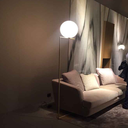 Aliexpress  Buy Creative brief gold floor lamps glass ball - floor lamps for living room