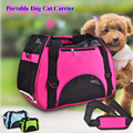 Portable Dog Cat Carrier Breathable Polyester 600D Colorful Single Shoulder Handbag Easy Carry Pet Bag 3 Size Slings Pet Gifts