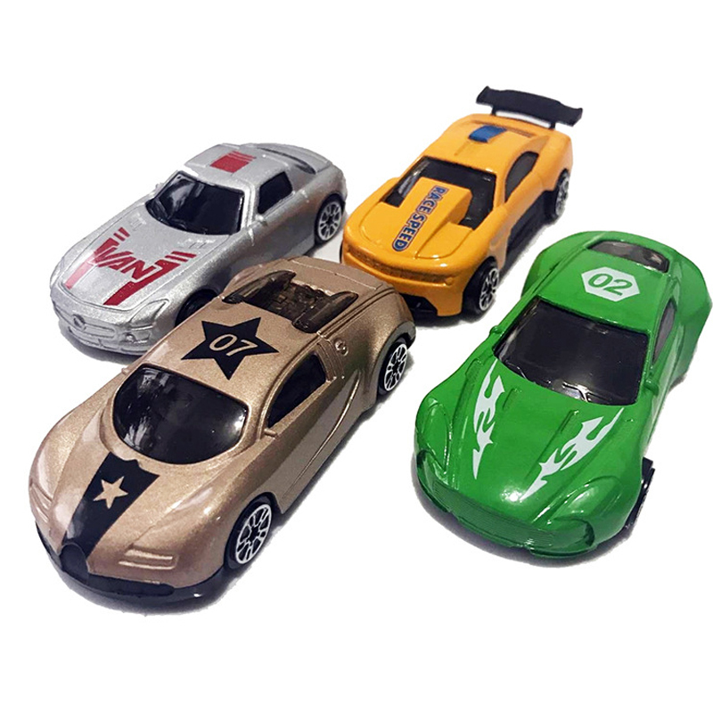 XQ 1PCS Mini Car Metal & Plastic Diecast Car Model For Children Kids Early Eductional Toy Birthday Gift 7*3cm