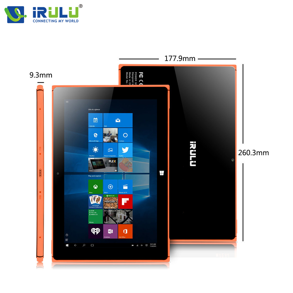 iRULU Walknbook Tablet Laptop 2 in 1 Hybrid Windows 10 10 1 Notebook Computer Quad Core