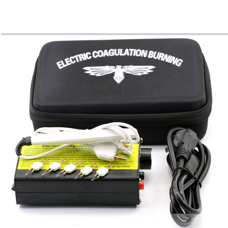 New Beauty Health Desktop electrocoagulation hemostatic double eyelid electric heating device Eyelid Tools