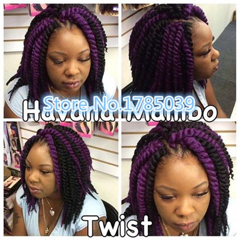 Free Shipping 70gpack 12 Havana Mambo Twist Crochet Braid Hair