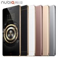 Nubia ZTE originais Z11 Mobile Phone 4 GB RAM 64 GB ROM 5.5 de polegada Quad Core 16.0MP 1920x1080 Snapdragon 820 Impressão Digital NFC Android