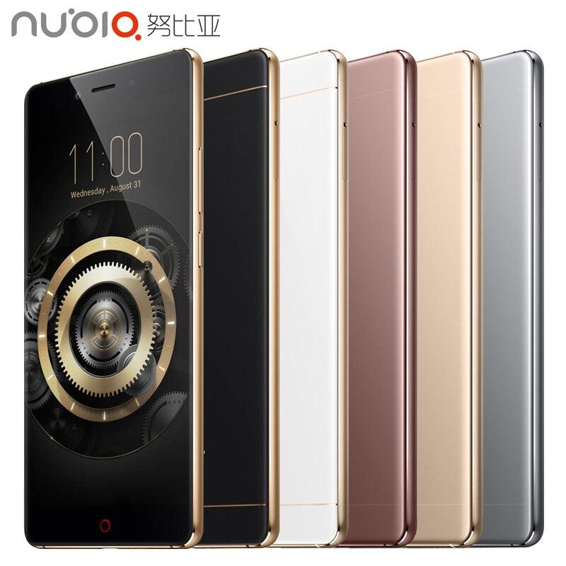 Original ZTE Nubia Z11 Mobile Phone 4GB RAM 64GB ROM 5 5 inch Quad Core 16