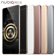 Original zte nubia z11 handy 4 gb ram 64 gb rom 5,5 zoll Quad Core 16.0MP 1920×1080 Snapdragon 820 Fingerabdruck NFC Android