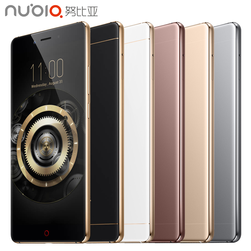 Original ZTE Nubia Z11 Mobile Phone 4GB RAM 64GB ROM 5.5 inch Quad Core 16.0MP 1920x1080 Snapdragon 820 Fingerprint NFC Android