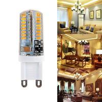 Mini 10XG9 LED Maïs Lumière SMD 3014 Ampoule Spotlight Pour Lustre Remplacer 5 W Lampe Halogène 64LED AC 110-240 V