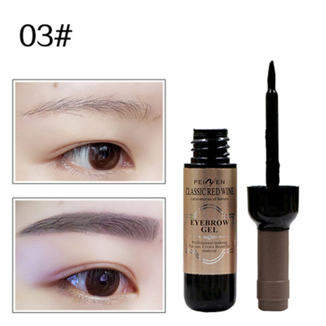 1Pcs Eyebrow Gel Black Coffee Gray Peel Off Eye Brow Shadow Eyebrow Tattoo Gel Cosmetics Makeup for Beauty High Pigmented Cream 4