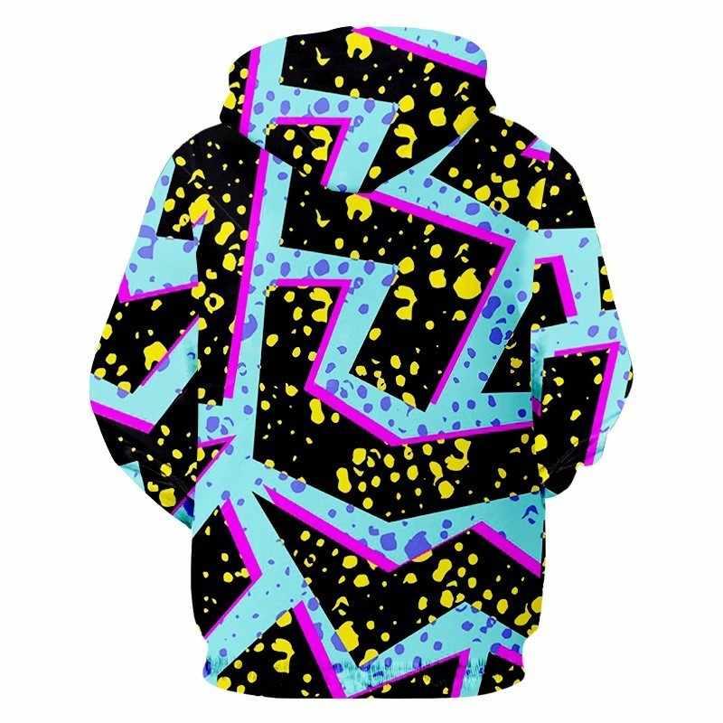 OGKB толстовки на молнии для мужчин прохладный печати синий Flash Light 3D Толстовка Новый Harajuku человек хип хоп с длинным рукавом Кардиган капюшоном 6xl