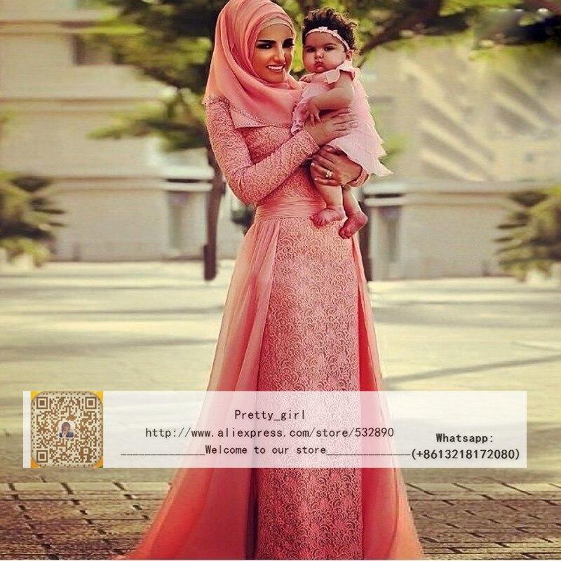 Árabe Kaftan musulmán Hijab vestido de novia 2016 elegante vestido ...