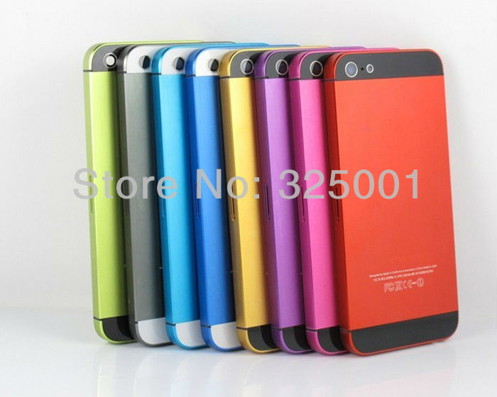 iPhone5 Housing Back Battery Cover Assembly Middle Frame Metal Full iPhone 5 5G - evor zeng's store