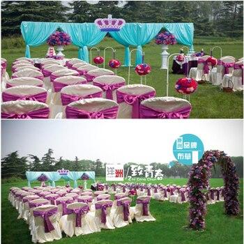 chair sashes for weddings,satin sashes wedding decoration ORGANZA CHAIR SASHES BOW COVER BANQUET