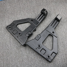 4F0807227 4F0807228 Pair Front Bumper Bracket Holder Guide Face Bar Brace Right and Left For Audi A6 C6 S6 Avant 2005-2011