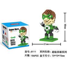 HSANHE Green Arrow blocks ego nero legoe star wars duplo lepin brick minifigures ninjago guns duplo farm castle super heroes