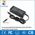 19 В 3.16A AC Адаптер ДЛЯ Samsung Q468 Q210 Q230 Q208 QX310 Q310 Q320 Ноутбук Зарядное Устройство Питания 5.0 мм * 3.0 мм