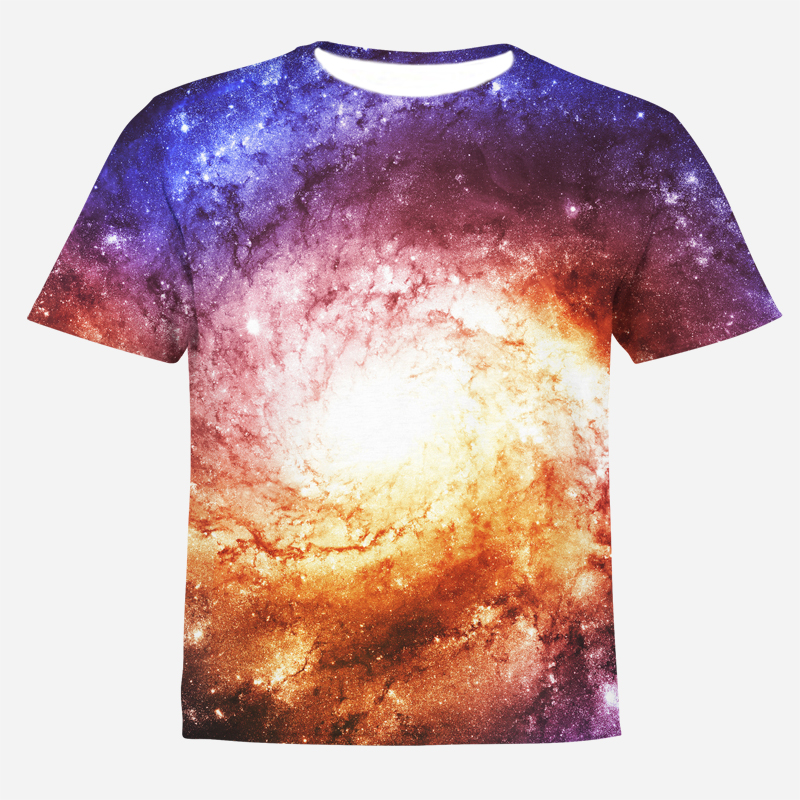 T-Shirt Kids Tops Universe-Star Funny Harajuku-Style Girl Fashion Children Summer Big Boy
