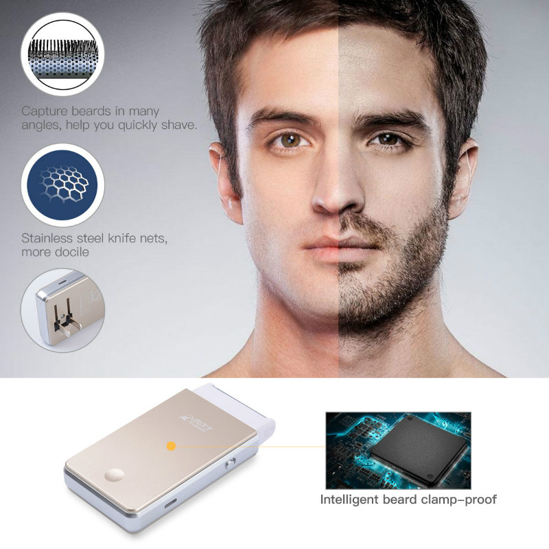 Mini Reciprocating Single Blade Rechargeable Electric Shaver razor men Built-in charging plug face care tool shaving machine 46 in 2017 the new primitive man shaving machine 4 d waterproof charging crime electric razor the three razor head man shaved the