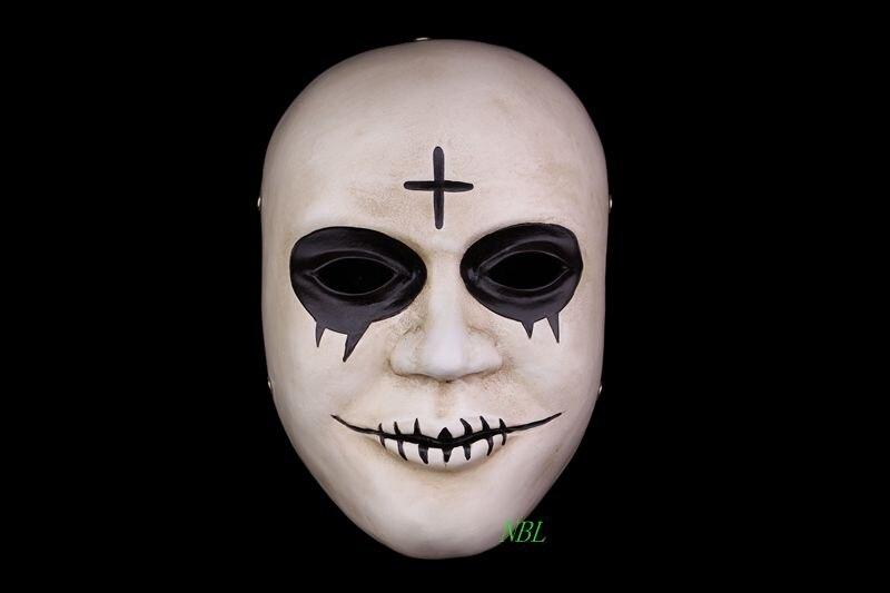 Halloween Kruis.Us 26 67 8 Off Movie De Purge Maskers Kruis Hars Glimlach Wit Masker Volwassen Gezicht Mascara Halloween Carnaval Thema Cosply Kostuum Gratis