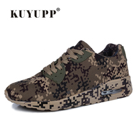 KUYUPP Fashion Camouflage Canvas Casual Shoes For 90 Lovers Shoes Sport Men Trainers Summer Breathable Outdoor
