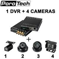 HDVR004 4CH видео Регистраторы 4 г WI FI gps HD 1080 P mini sd карты мобильного DVR HD транзитный автобус Камера Системы автомобильный видеорегистратор для так