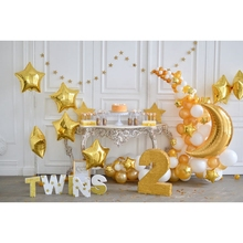 Yeele 2 Year Birthday Party Interior Decorations Personalized Photographic Backdrops Photography Backgrounds For Photo Studio