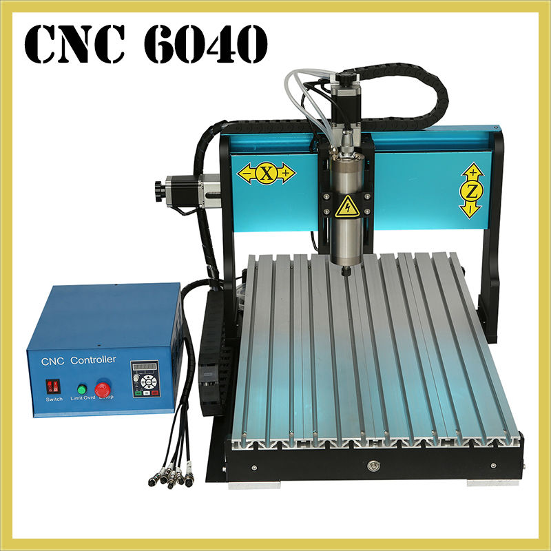 Desktop Engraving Machine 800W Spindle Motor CNC Wood Router 3 Axis Engraving Machines with USB 2.0 Port 6040 With Water Tank 500w mini cnc router usb port 4 axis cnc engraving machine with ball screw for wood metal