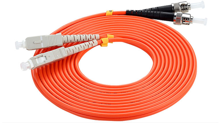 10 Meter Sc-st Fiber Optic Cable Multimode Duplex Patch Cord Om2 50/125