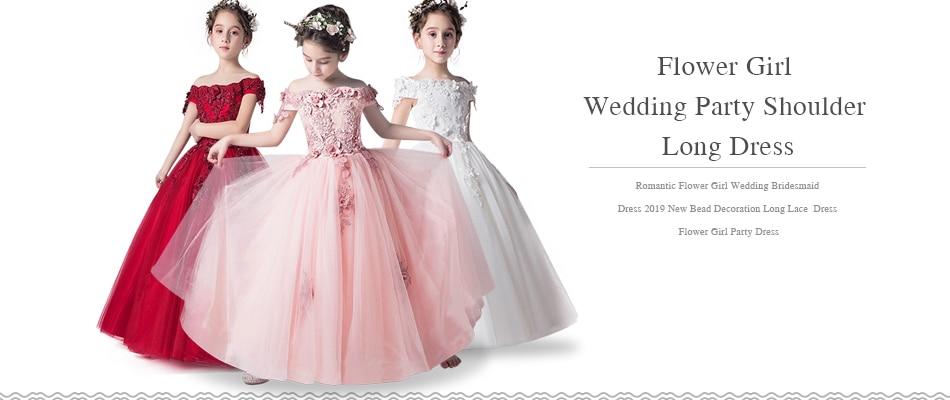 Кружевное платье с длинными рукавами для девочек, держащих букет невесты на свадьбе, на день рождения, банкет Элегантное Длинное белое кружевное платье с бабочкой для девочек