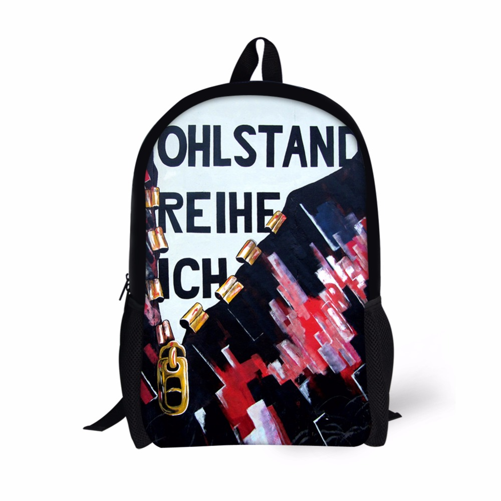 Customized Bag for Men Backpack For Teenager Boys Girls Bookbags Dolphin Printed Mens Schoolbag for Letter Fashion Designs