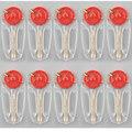 50 Шт. 10 Пакетов Мини Handy Флинстоуны Флинт Камни в 10 году Диспенсер Заменены на Бензин Зажигалка Открытый Отдых Инструмент