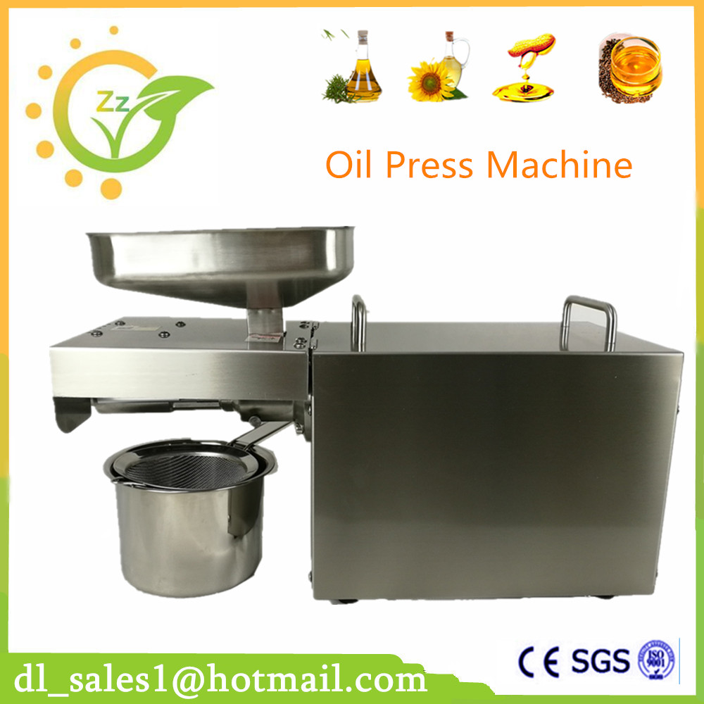 Automatic High quality oil press machine/cold oil press machine/seed oil extraction machine