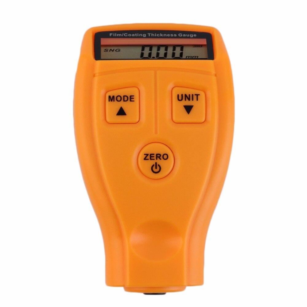 GM200 digital automotive coating ultrasónico hierro pintura espesor medidor herramienta de medición medidores de espesor herramienta de diagnóstico