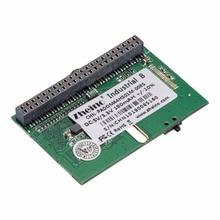 Zheino 44PIN IDE/PATA SSD DOM 8 ГБ SLC 16 ГБ 32 ГБ 64 ГБ MLC Горизонтальная + разъем промышленные диск на модуле твердотельные накопители