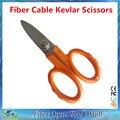 Envío Libre De Fibra Óptica de Corte de Kevlar de fibra de aramida Kevlar tijeras afiladas, tijeras jumper cable pigtail FTTH Herramientas