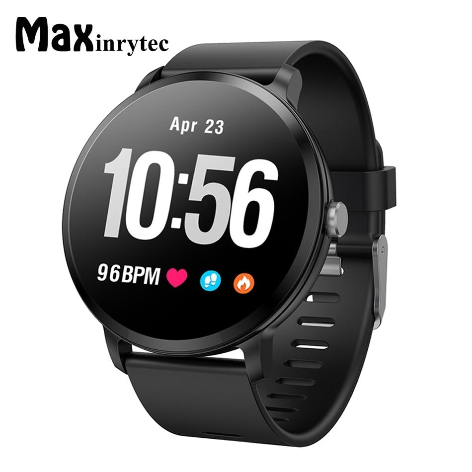 Original V11 Smart Watch With Tempered Glass Waterproof Activity Fitness Tracker Heart Rate Monitor BRIM Women Smartwatch Men