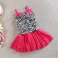Girls Newborn Outfit Sets Zebra Top T-shirt Tutu Skirt Kids Clothes 2PCS  1-6Years Children