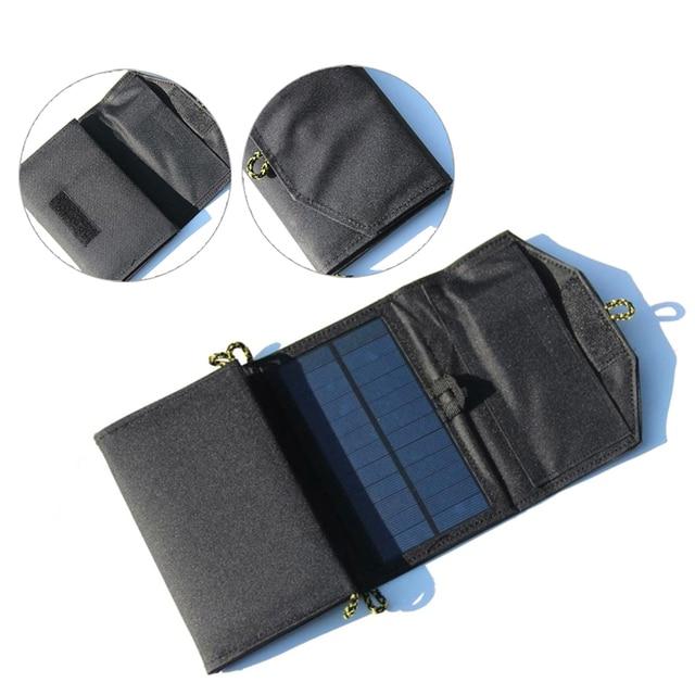 Portable Folding 7W Solar Panel  5